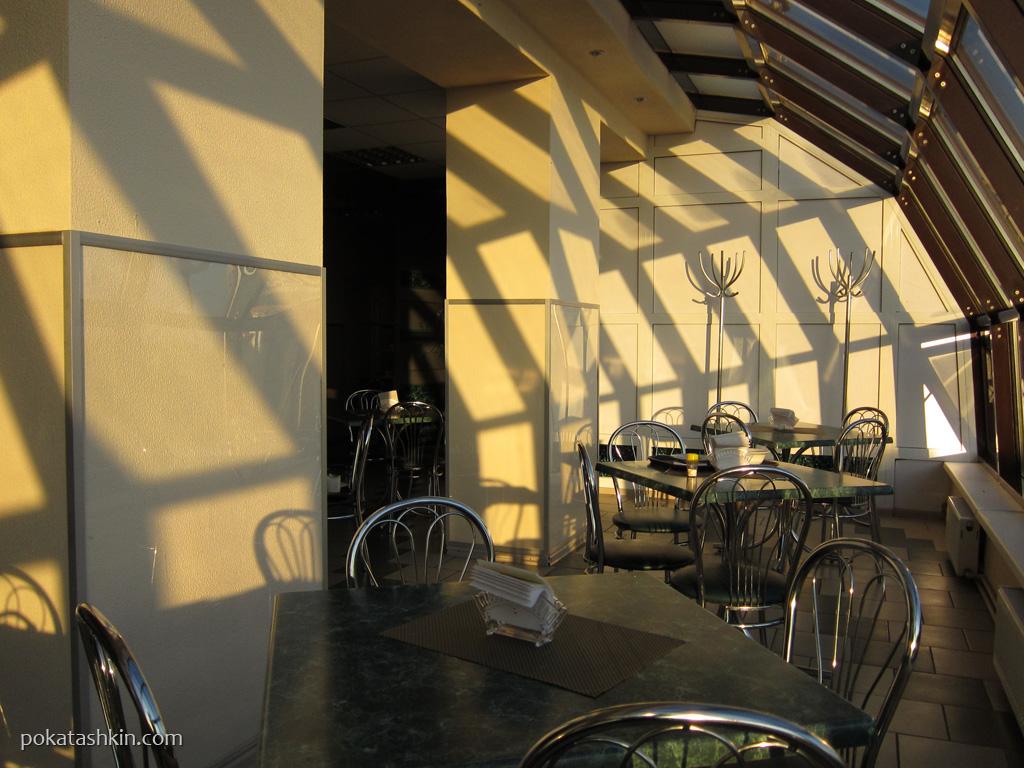 Интерьер. Кафе «Новый остров» (трасса Минск-Гомель, M-5, 193 км)