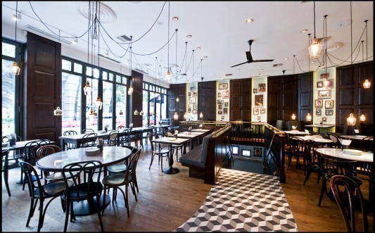 Индийский ресторан Dishoom в Лондоне
