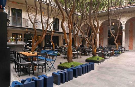 Ресторан Azul Histórico в Мехико